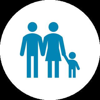 המשפחה במרכז